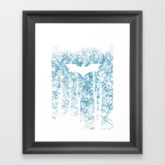 Hidden Hero Framed Art Print