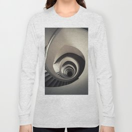 Spiral staircase in beige tones Long Sleeve T-shirt