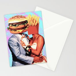 Fast Food Love Stationery Cards