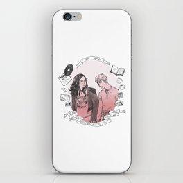 Rae + Finn iPhone Skin