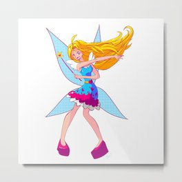 Heart Fairy! Metal Print