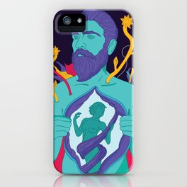 Freedom - Men iPhone Case