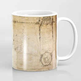 Plan of the Siege of the Havana Surrender (Aug. 12, 1762) Coffee Mug