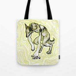 Toxic Werewolf Tote Bag