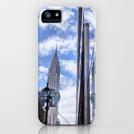 Chrysler Building Reflections in Midtown iPhone Case