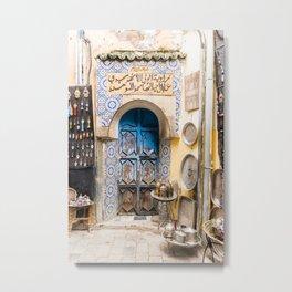 Doorways - Fes, Morocco II Metal Print