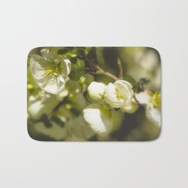 White Quince Bath Mat