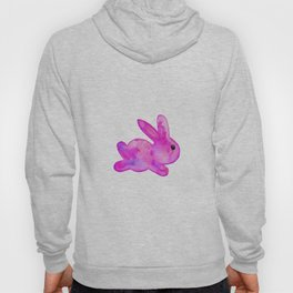 Little Bunny No. 1d by kathy Morton Stanion Hoody