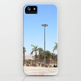 Temple of Luxor, no. 17 iPhone Case