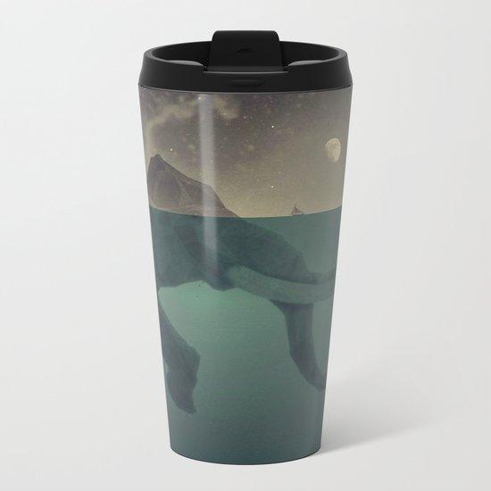 Elephant mountain Metal Travel Mug