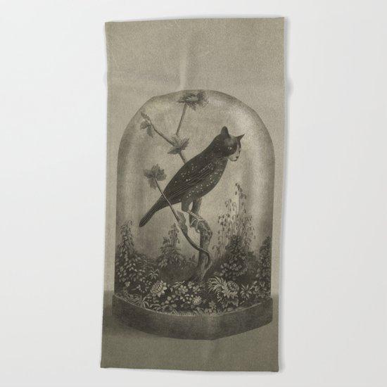 The Curiosity  Beach Towel