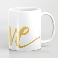Love Gold Coffee Mug