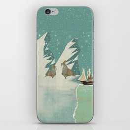the voyage iPhone Skin