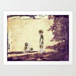 Boyhood Art Print