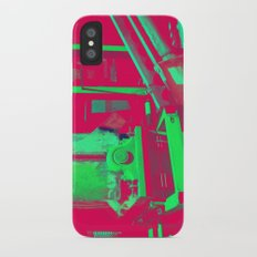 Factory Red iPhone X Slim Case