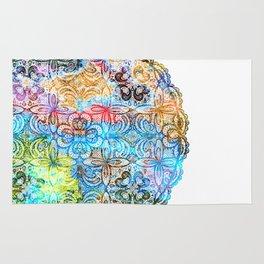 Colorful Manadala Rug