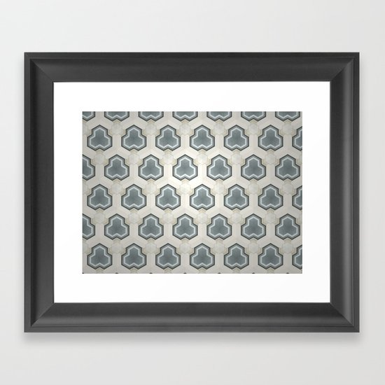Kaleidoscope 003 Framed Art Print