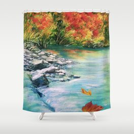 Let it Go to Clean Your Soul Shower Curtain