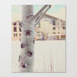 Aspen Tree Jackson Hole Mangy Moose Canvas Print