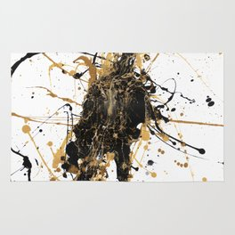 Abstract Anticipation Rug