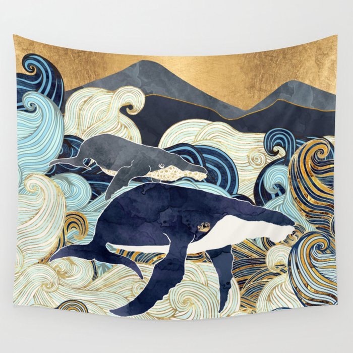 Bond IV Wall Tapestry