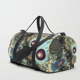 Storm Shadow Fractal Duffle Bag