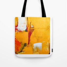 Sun on Fire - Landscape Tote Bag