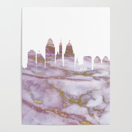 Cincinnati Skyline Ohio Poster