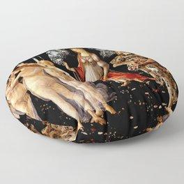 "Sandro Botticelli ""Primavera"" Floor Pillow"