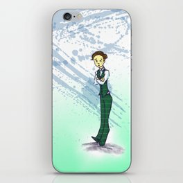 the uptight art teacher iPhone Skin