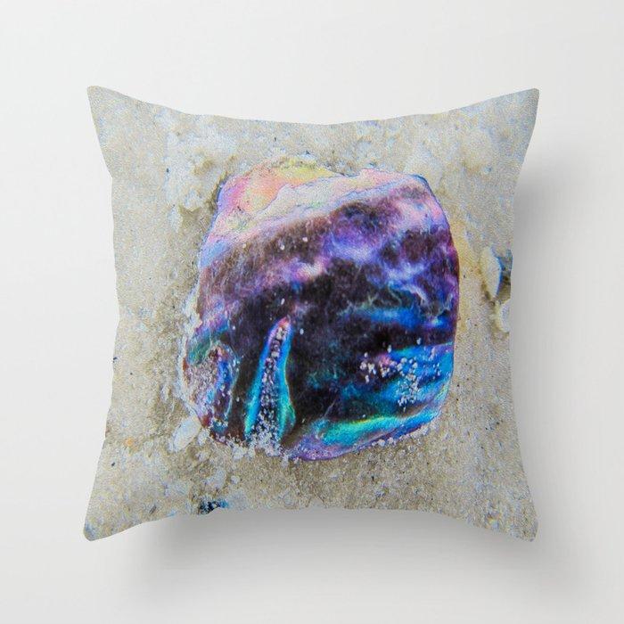 Aura Shell Throw Pillow