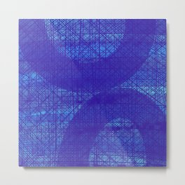 Mood Indigo Metal Print