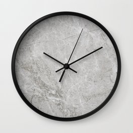 Rustic White Pattern (Black and White) Wall Clock