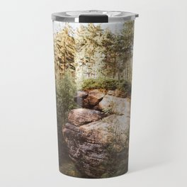 Forest trail - Landscape and Nature Photography Travel Mug