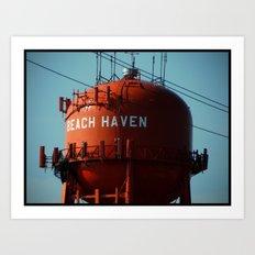 Beach Haven Art Print