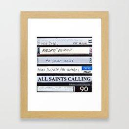 All Saints Calling Framed Art Print