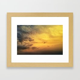 Where Angels Fly Framed Art Print