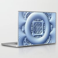 frozen Laptop & iPad Skins featuring Frozen by Lyle Hatch