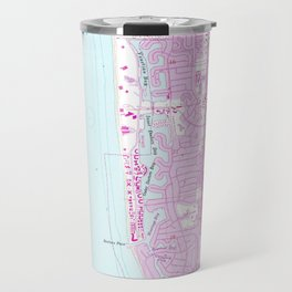 Vintage Map of Naples Florida (1958) Travel Mug