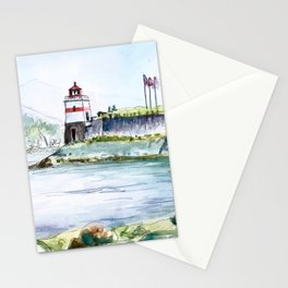 Stanley Park Vancouver Canada Stationery Cards