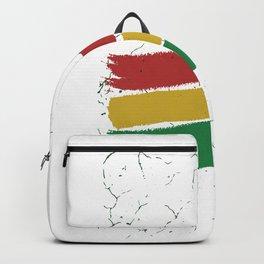 Jah bless Rasta Backpack