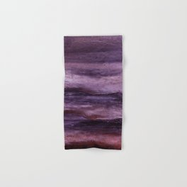 Eggplant Hand Bath Towels Society6