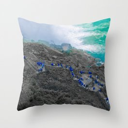 Niagra USA USA USA Throw Pillow