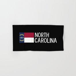 North Carolina: North Carolinian Flag Hand & Bath Towel