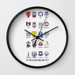 Alternate Football Teams Wall Clock