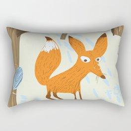For an adventure Canada Vintage fox travel poster Rectangular Pillow
