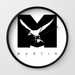 Martin Forever Inverted Wall Clock