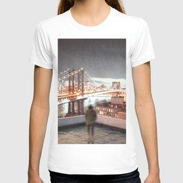 New York City Views Manhattan Rooftop T-shirt