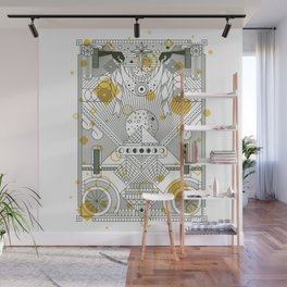 Moon's Arrival Wall Mural