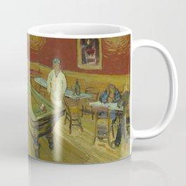 """Vincent van Gogh """"Le café de nuit (The Night Café)"""" Coffee Mug"""